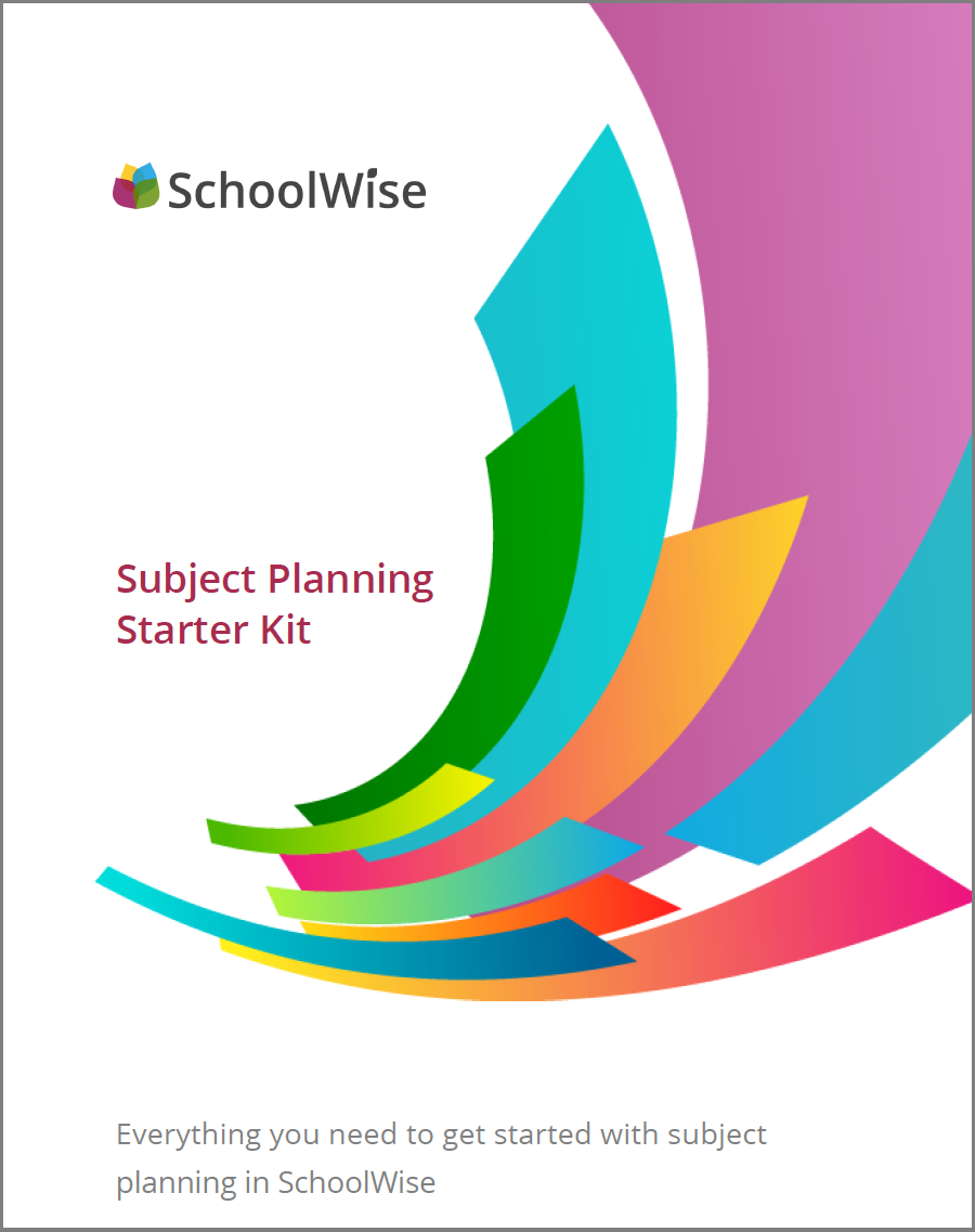 Junior Cycle Subject Planning Starter Kit